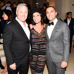 Ian schrager  rosario dawson   ben pundole    ian schrager and stefano tonchi celebrate the premiere of the new york edition and the launch of